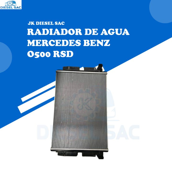 RADIADOR DE AGUA Mercedes Benz A6345010201