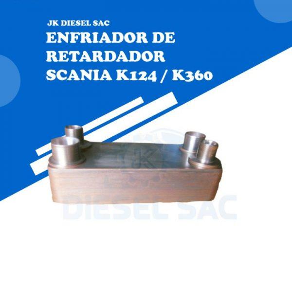 ENFRIADOR DE RETARDADOR SCANIA 1395673 1351657