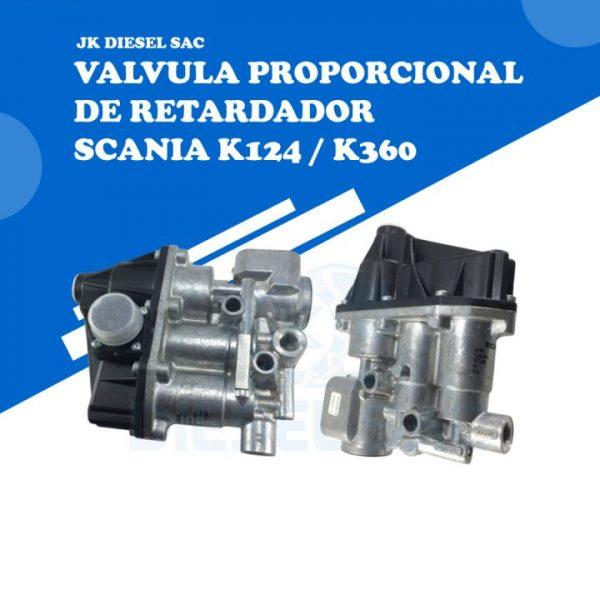Válvula Proporcional Scania 1850567 1736364 K124