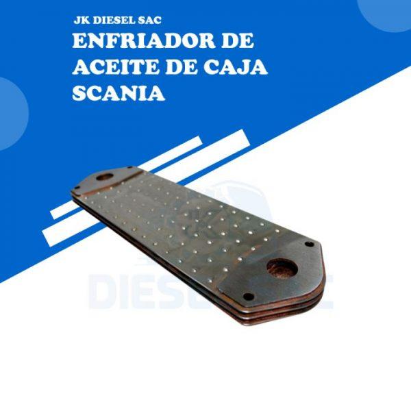 ENFRIADOR DE ACEITE DE CAJA SCANIA 1351348 / 1424408