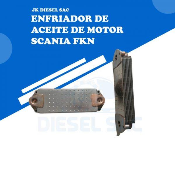 scania 1543688 Enfriador de aceite de motor scania fkn 1448933