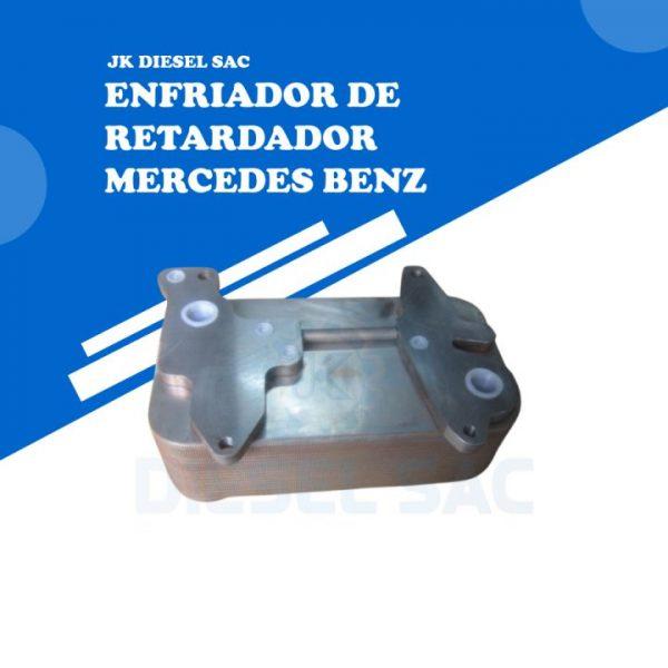 Enfriador de Retardador Mercedes Benz O500 A0043800388