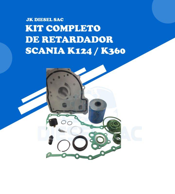 Kit de Reparo de Retardador Scania K124 550567 550541 H124 100