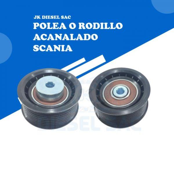 Polea Acanalada Scania 1858884 11795774 1475155 K410