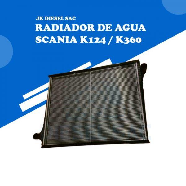 Radiador de agua SCANIA 1439504 1365371 1439504